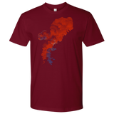 Red Smoke T-Shirt | Men's Crew Neck