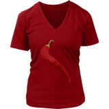 Chili Pepper | Women's V-Neck