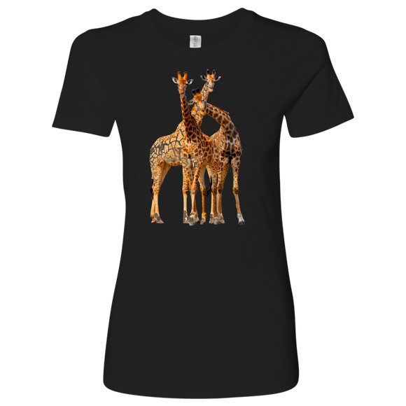 Giraffe T-Shirt | Women's Crew Neck