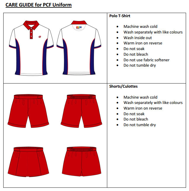 Uniforms Care Guide