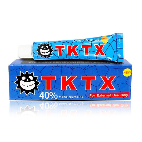 NEW TKTX Wholesale Numbing Cream Anesthetic Fast Tattoo Numb Cream for Painless 40% Gold 25PCS 50PCS 100PCS 200PCS