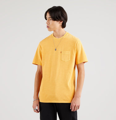 RELAXED FIT POCKET TEE - KUMQUAT GARMENT DYE KUMQUAT