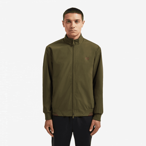 Fred Perry Brentham Jacket | Dark Thorn