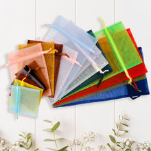 "Load image into Gallery viewer, Organza Bags 6"" x 13"" (12 pieces)"