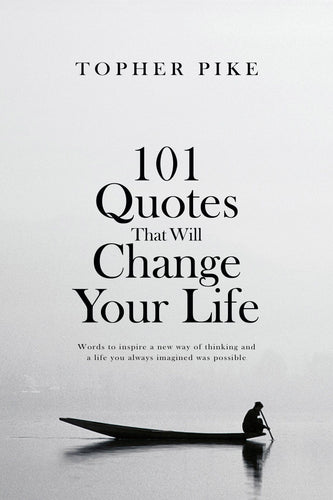 Signed Paperback - 101 Quotes That Will Change Your Life