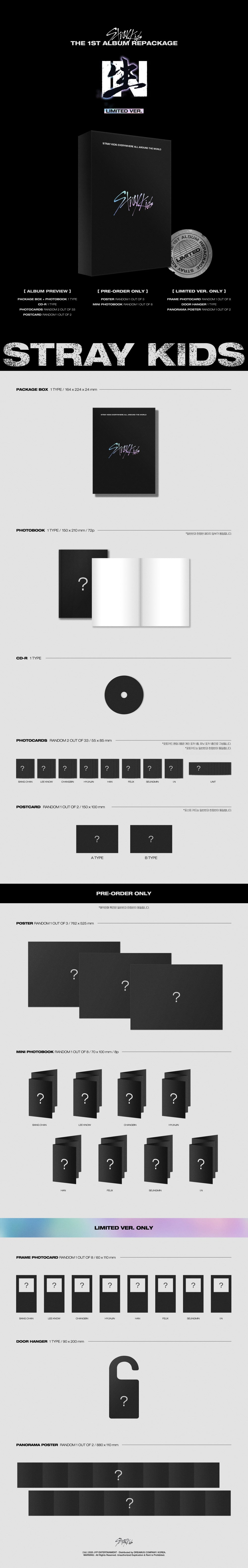 Stray Kids - IN生 (IN LIFE) (Repackage) (Limited Edition) - Riyadh - Saudi Arabia - Cash On Delivery - Kshopina
