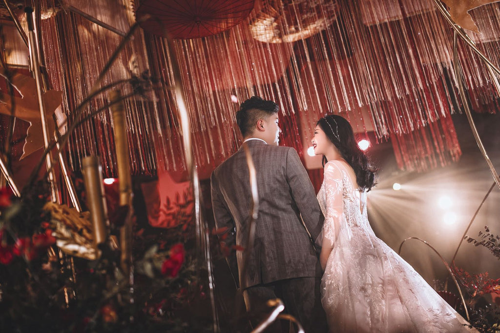 Jun & Jie's Chinese Traditional Theme Wedding