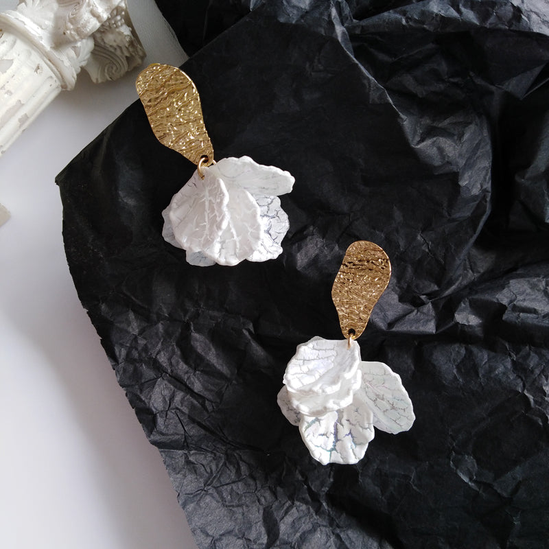 Dolly Romantic Resin Drop Earrings