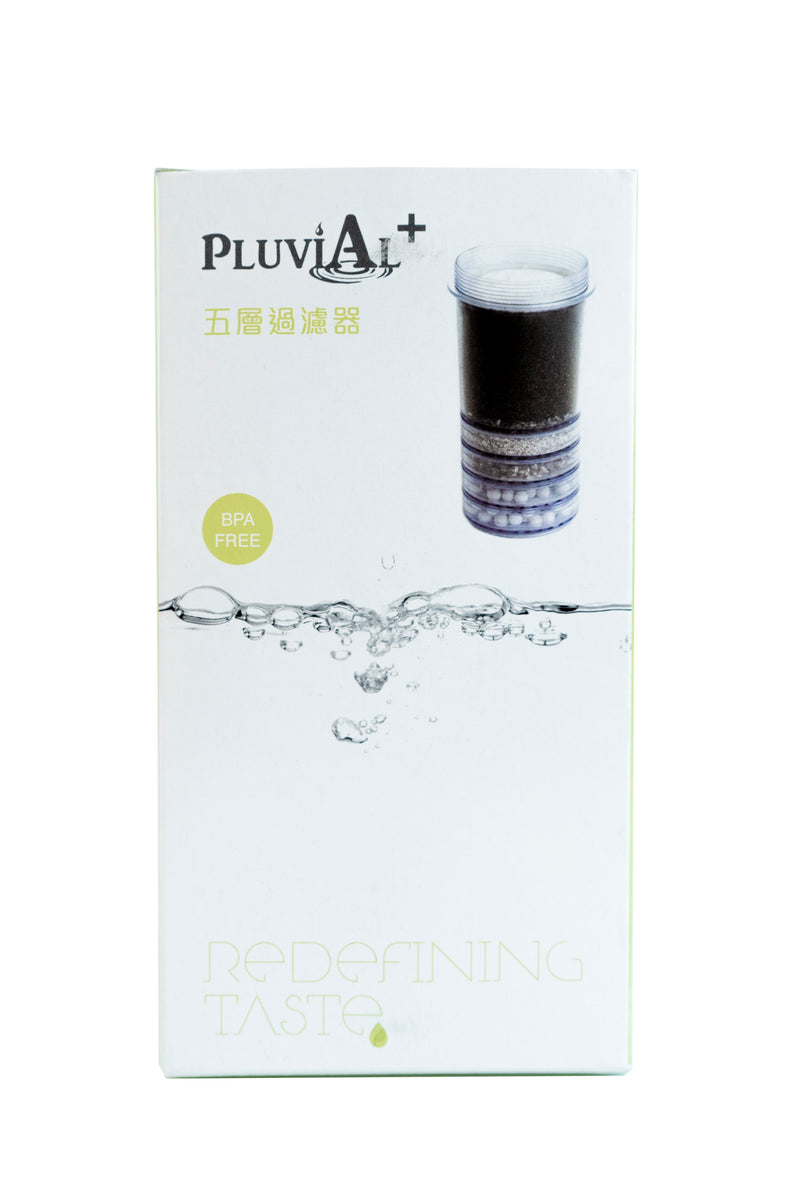 Pluvial Plus Water Filter Countertop Unit - One Year Bundle