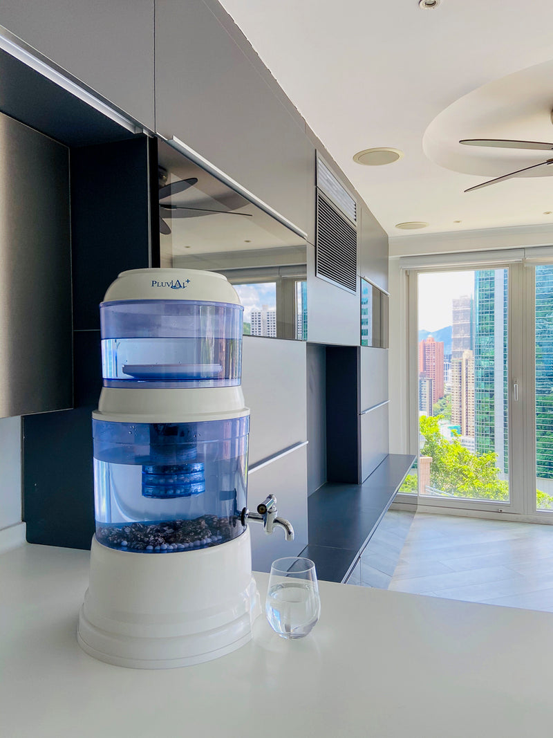 Pluvial Plus Water Filter Countertop Unit