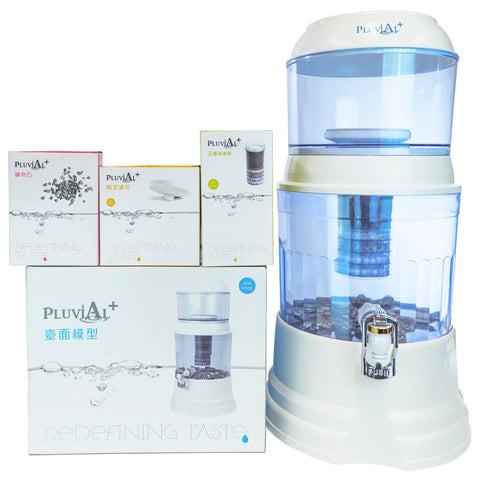 Counter Top Model (Starter Kit) - Natural Filtered Mineralised Water