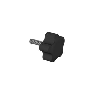 Medium Five Arm Rubber Knob
