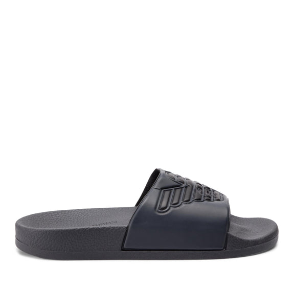 EA7 - Black and Grey Slippers