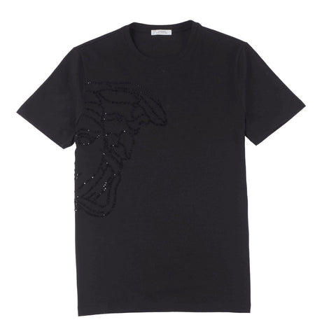 Versace Collection - Studded Medusa Logo Tee