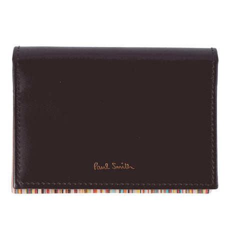 PS Paul Smith - Men's Wallet Foldover CRD INTMLT