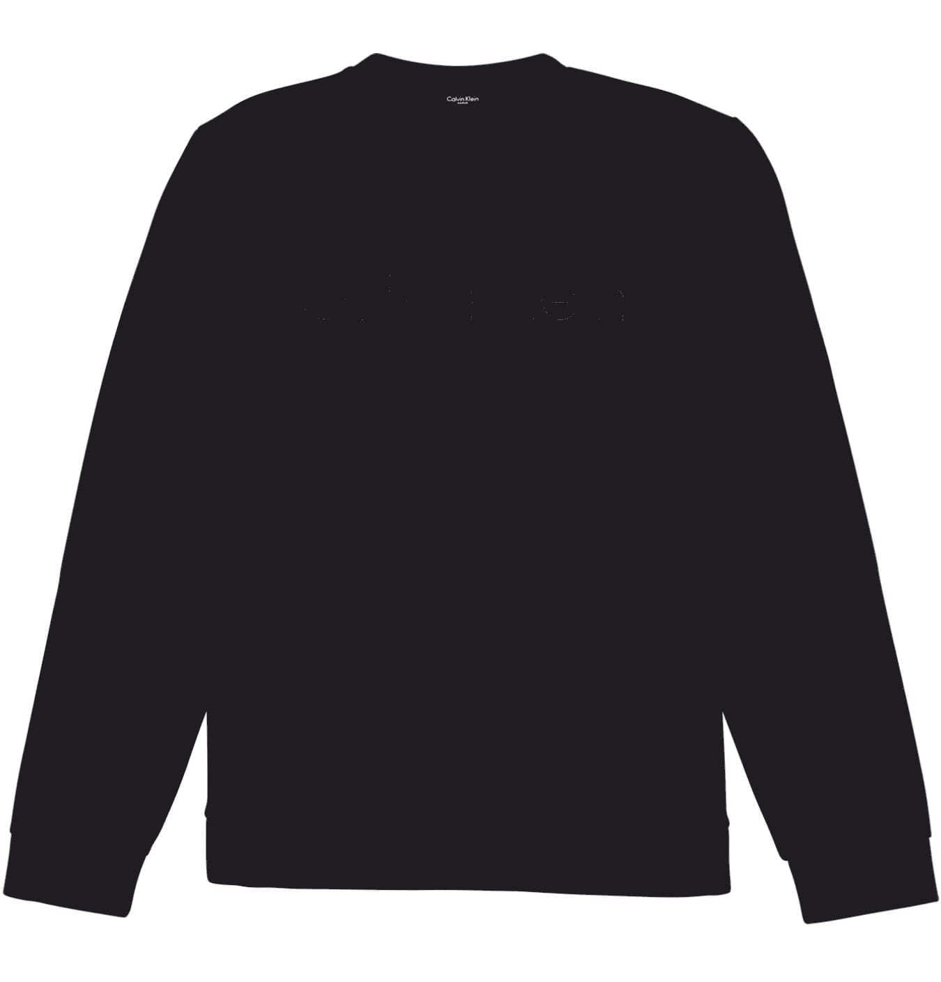 Image of   Bonded Jersey Sweatshirt Black