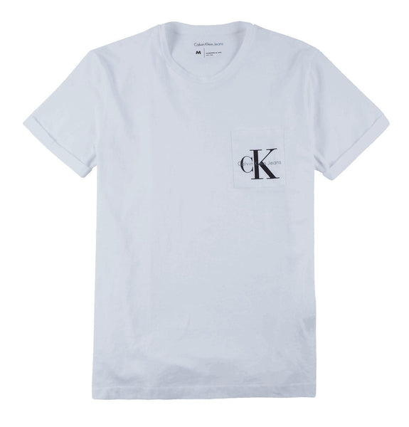 Logo Pocket T-shirt White