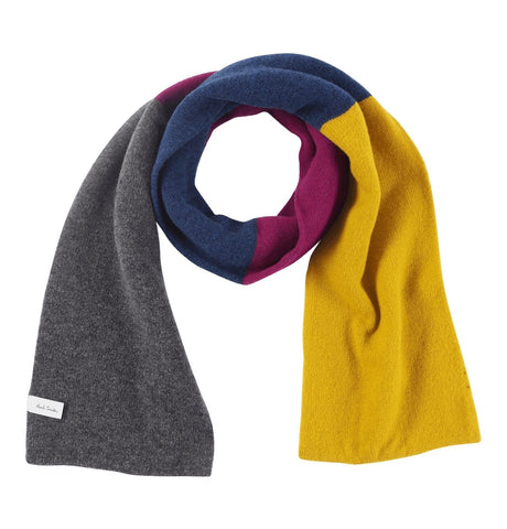 PS Paul Smith - Men's Scarf Wool Knit Yellow