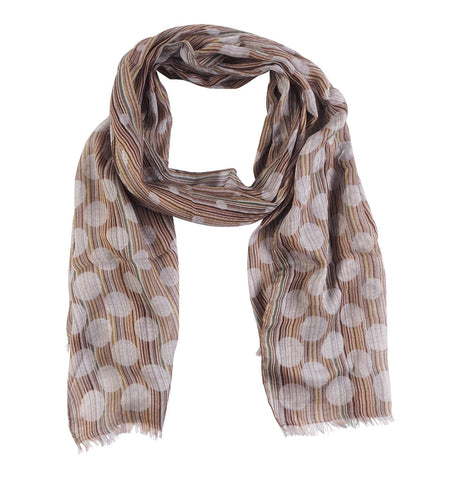 Men's Scarf Polka Multi