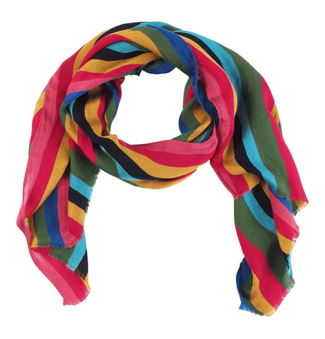 Men's Scarf Show Stripe