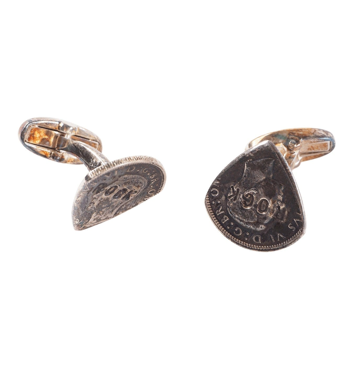 Image of   Men's Broken-coin Cufflinks