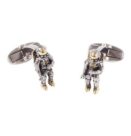 Men's Astronaut Cufflinks