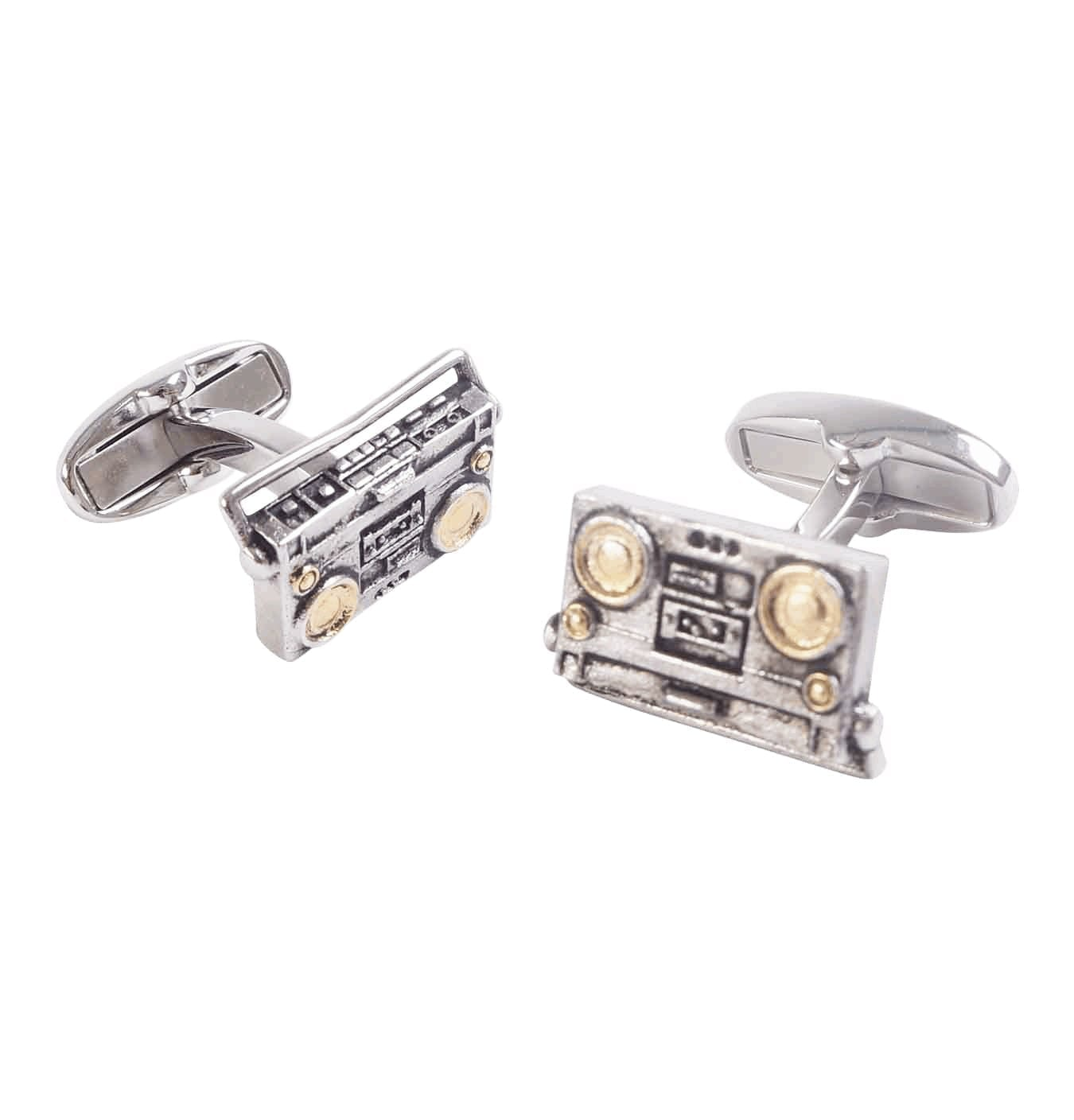 Image of   Men's Boombox Cufflinks