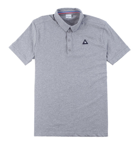 ESS Polo SS M Light Heather