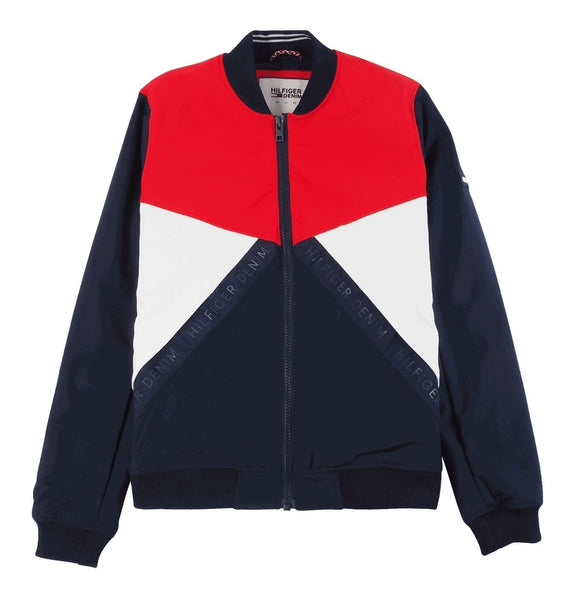 Color Block Bomber