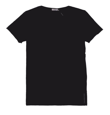Regular Vintage Washed Cotton T-shirt Black