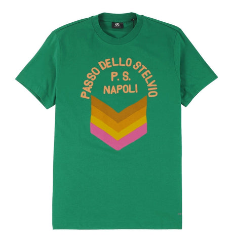 PS Paul Smith - Men's Slim Fit T-shirt with Napoli Print