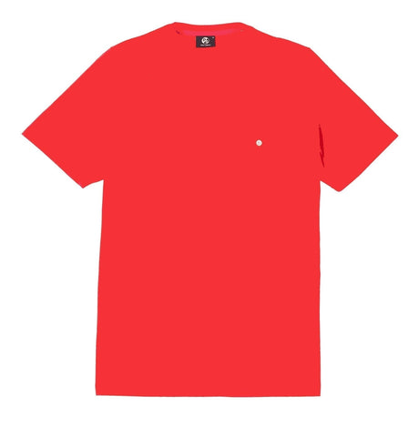 Red T-shirt with Front Pocket