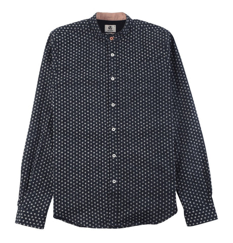 Men's Shirt Tailored Fit with Dotted Pattern