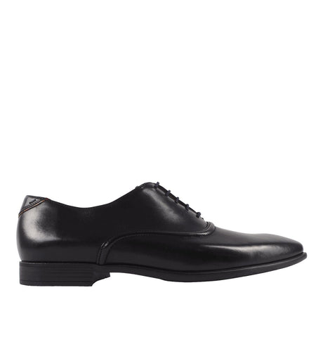 Men's Black Polished Leather 'Starling' Shoes