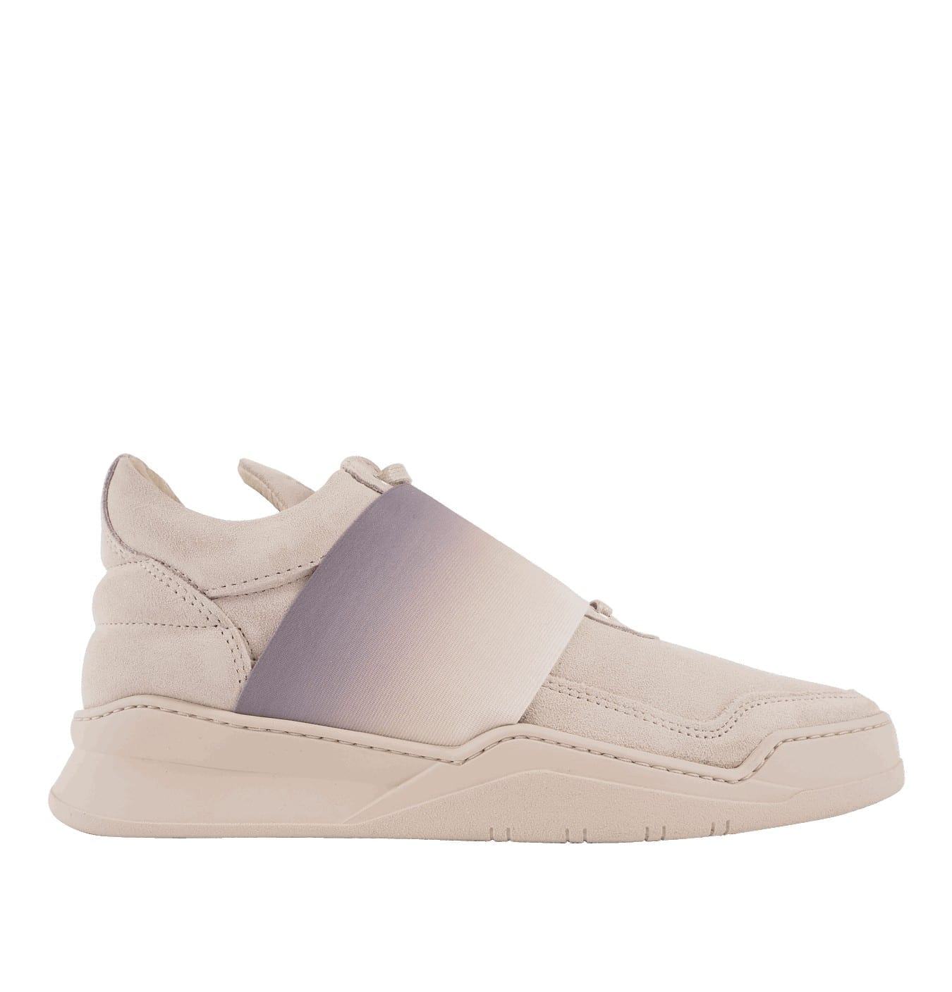 Image of   Low Top Elastic Strap Fade Trainer