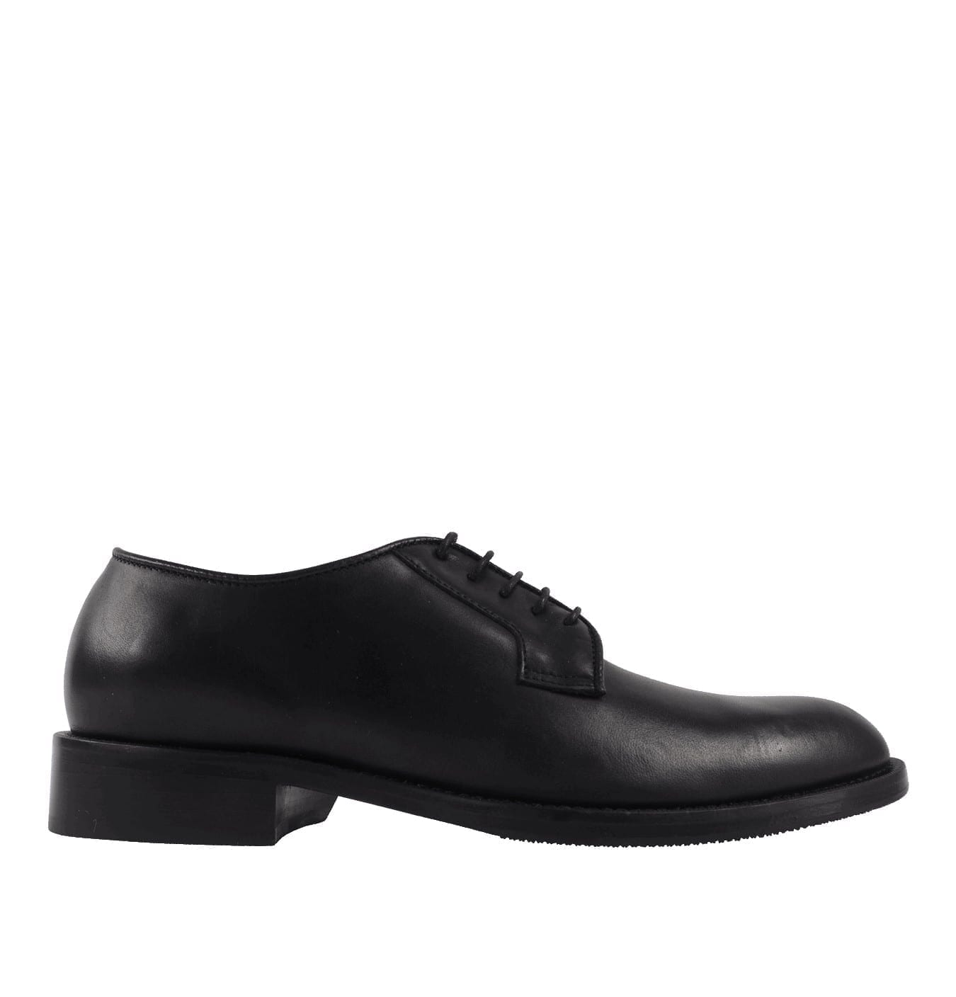 Image of Agaton Leather Shoe Black