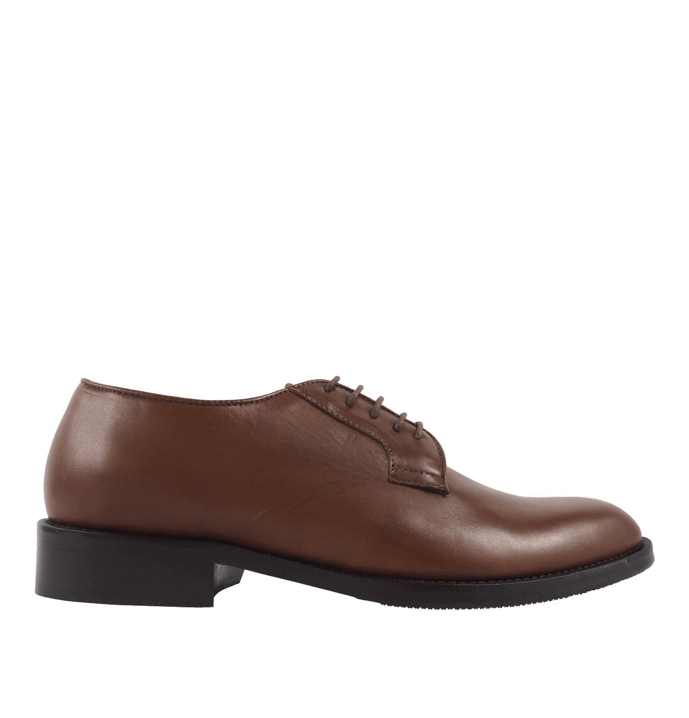 Image of   Agaton Leather Shoe Brown