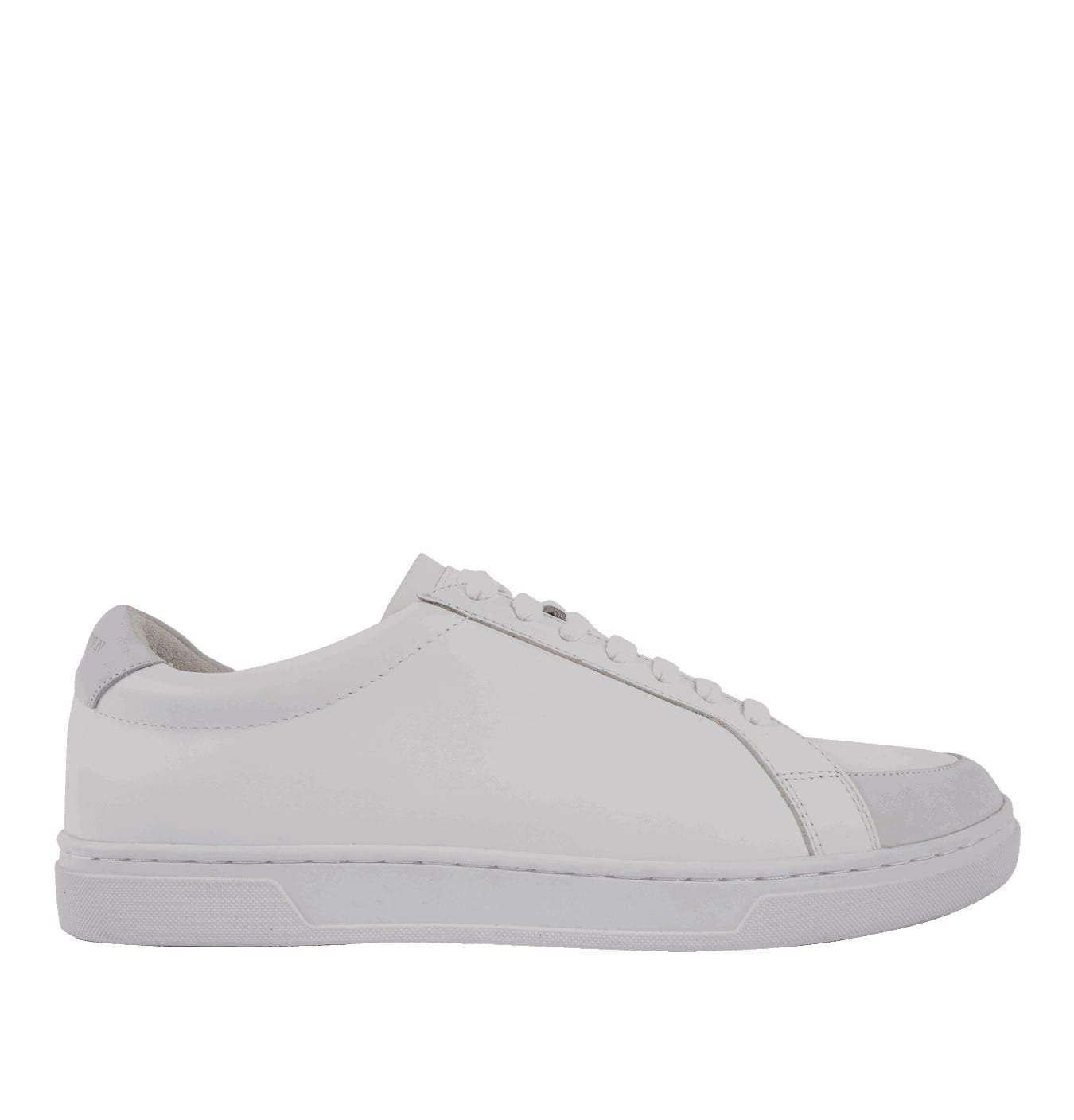 Image of   Arne Leather Trainers White
