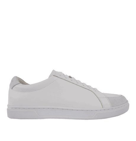 Arne Leather Trainers White