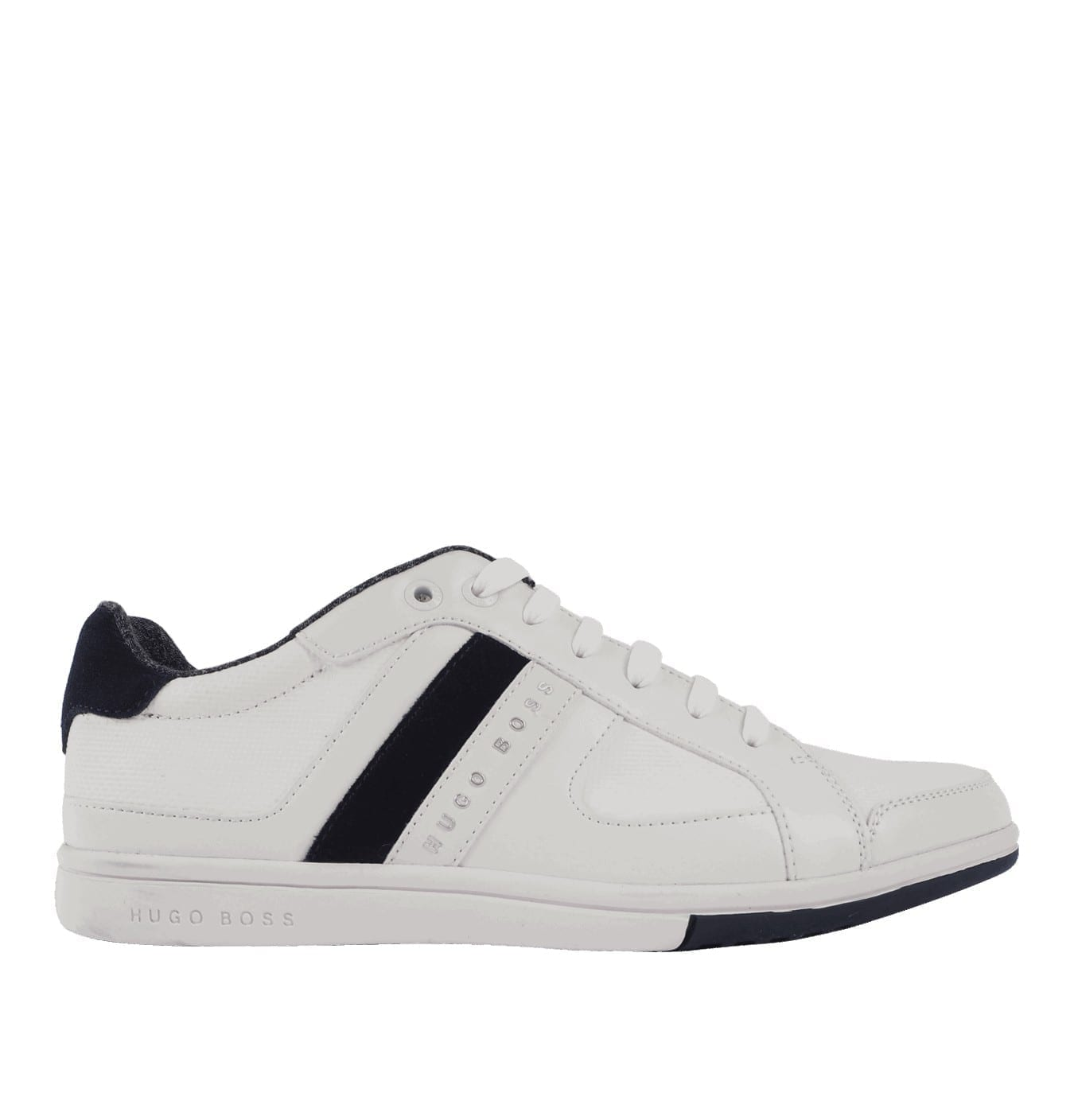 Image of   Low-Top Sneakers in Material Mix