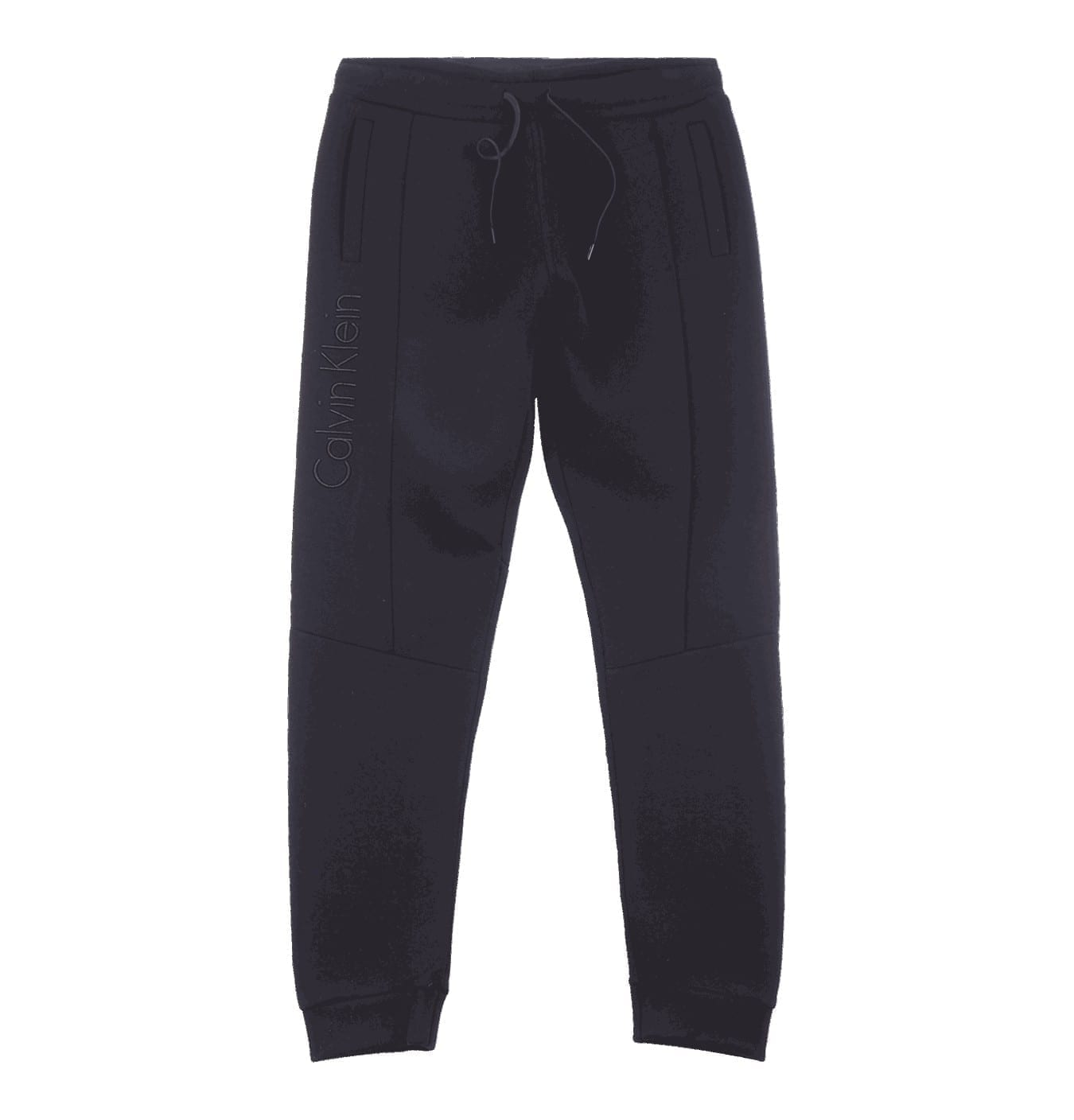 Image of   Bonded Jersey Sweatpants Black