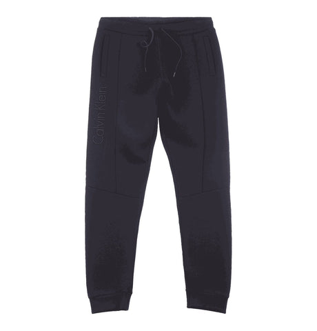Bonded Jersey Sweatpants Black