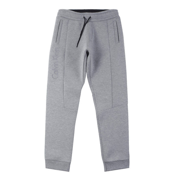 Bonded Jersey Sweatpants Grey