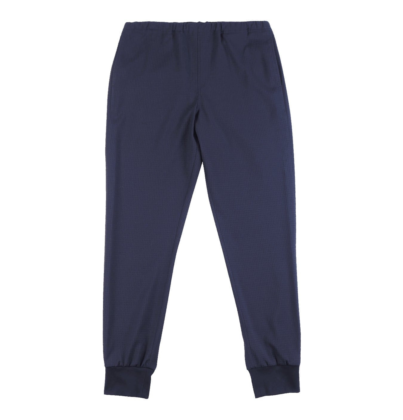 Image of   Drawcord Trousers Navy