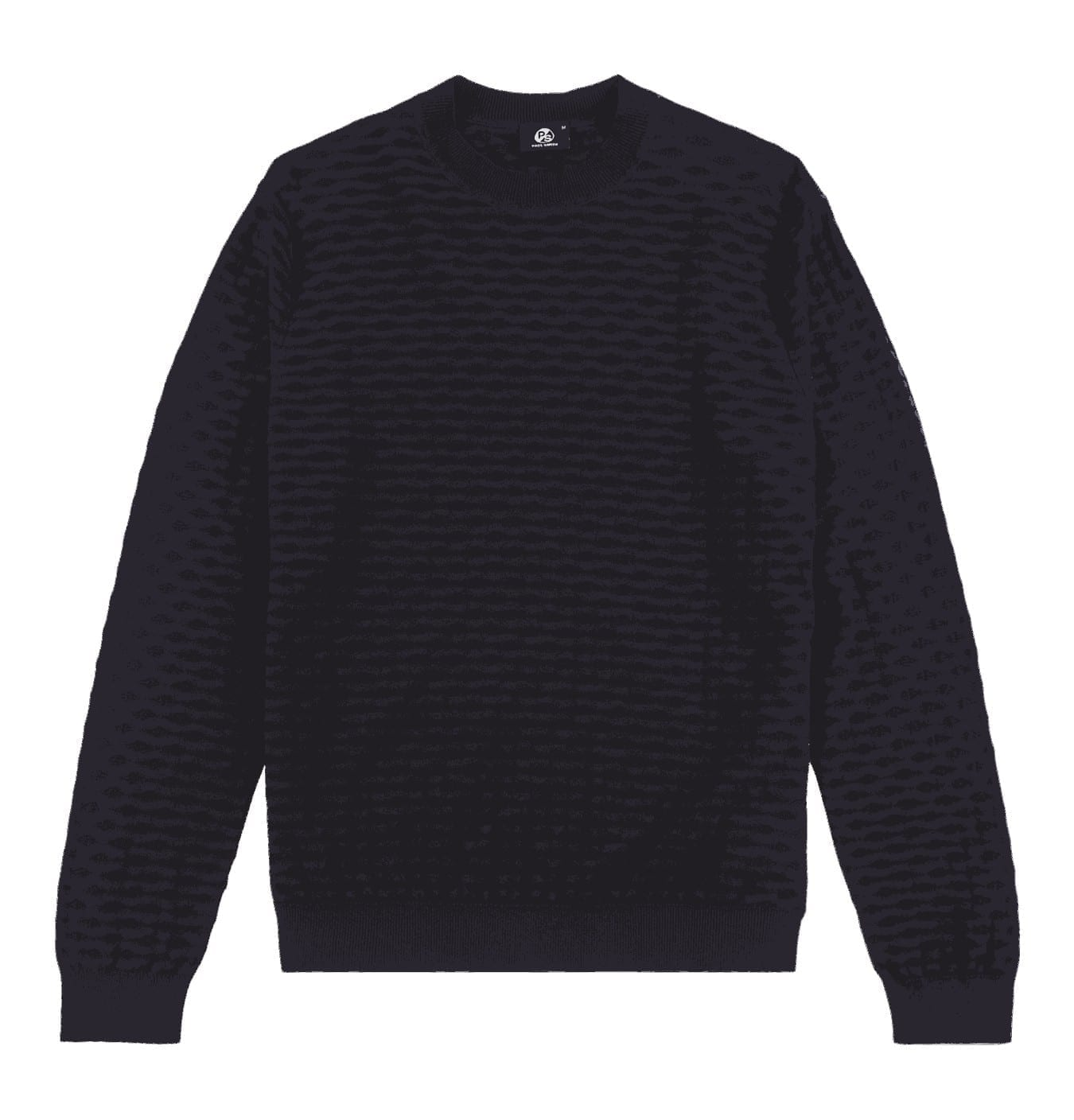 Image of   Black Mesh Knit