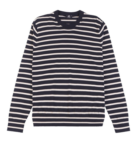 Men's Pullover Crew Neck Stripes