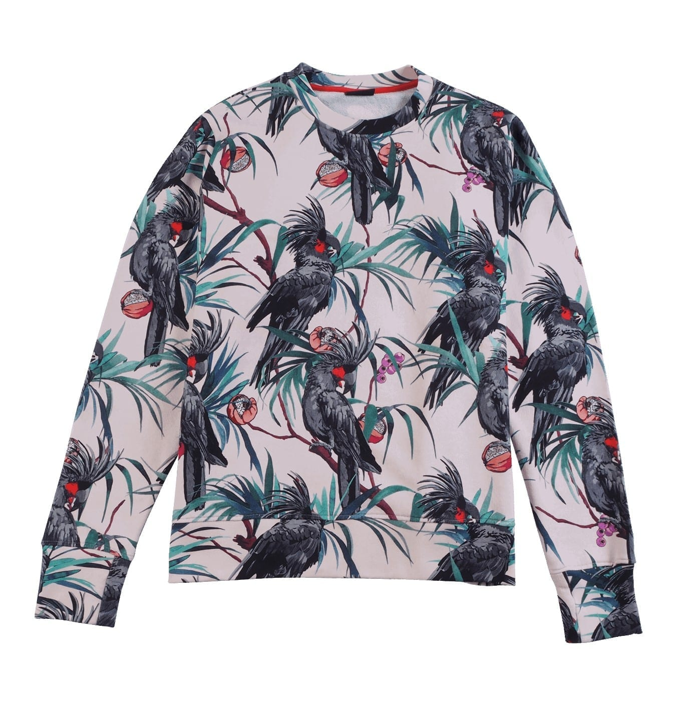 Image of   Cotton Jungle Parrot Sweatshirt