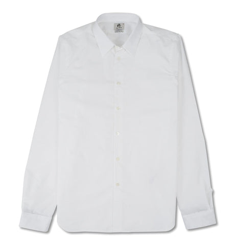 Mens White Shirt LSLV