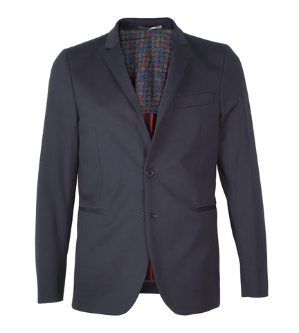 Mens Slim Fit Jacket Navy