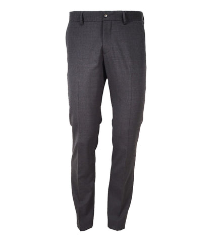 Tiger Of Sweden - Navy Herris Trousers Grey